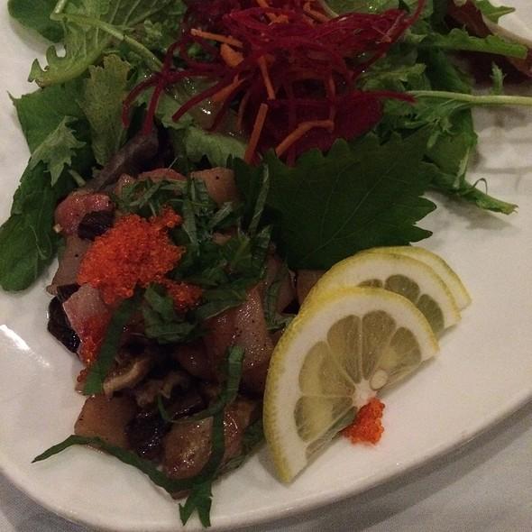 Hamachi & Shiitake Tartare