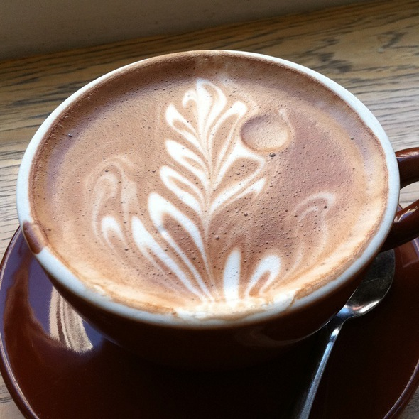 Hot Chocolate - Tcho @ Blue Bottle Coffee