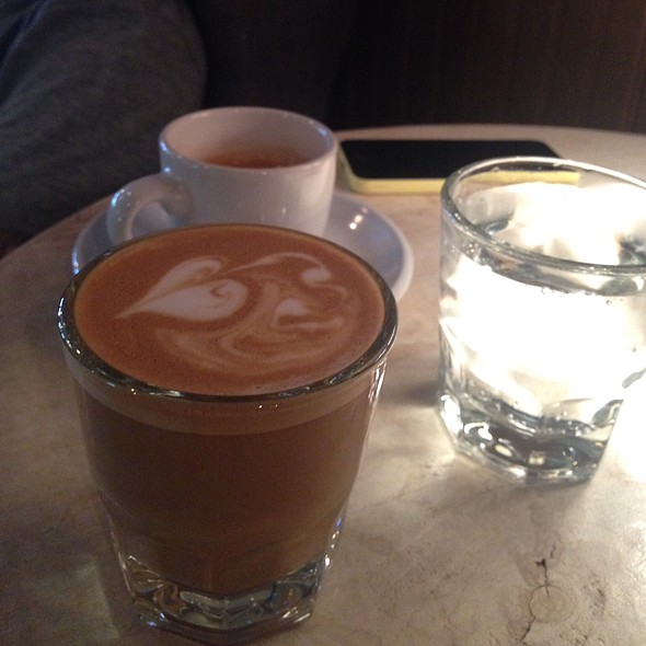 Cortado And Espresso @ Fourteen Eighteen Coffeehouse