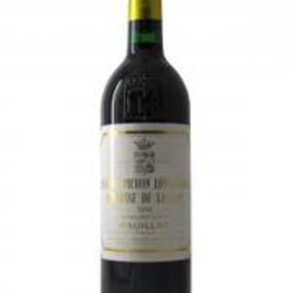 Chateau Suduiraut Bordeaux 2001 @ Vineyard: Pichon Longueville Baron