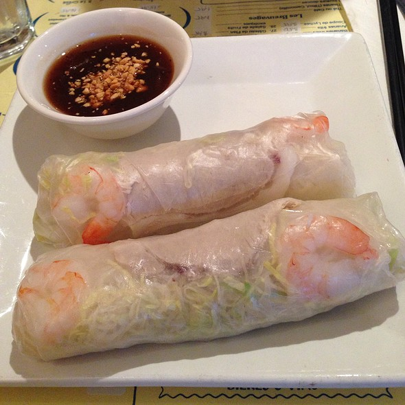 Goi Cuon - Shrimp and Pork Spring Rolls