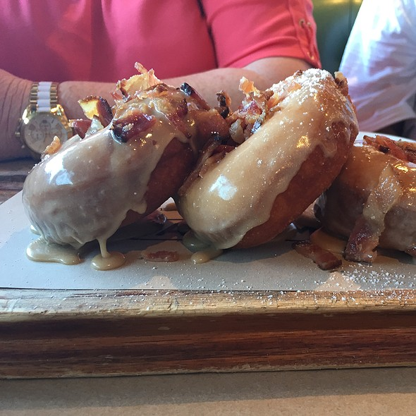 Maple Bacon Donuts @ Great Maple