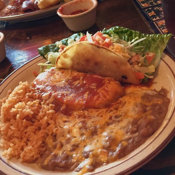 Taco Chili Rellenos Combination #5 @ La Casita Restaurant