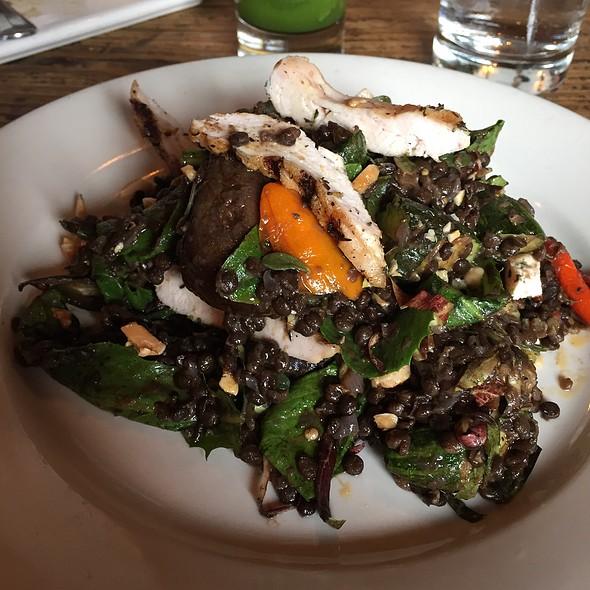 Roast Vegetable Salad With Lentals