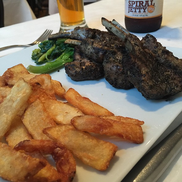 Lamb Chops - Aristo's, Salt Lake City, UT