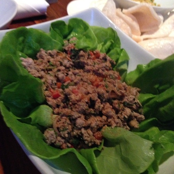Larb Ped (Spicy Duck Mince Salad) @ Malai Kitchen
