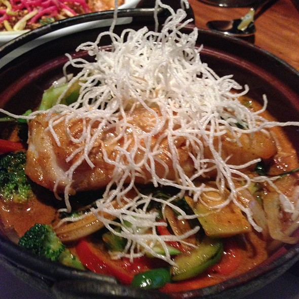 Cod Fish With Red Curry @ Malai Kitchen