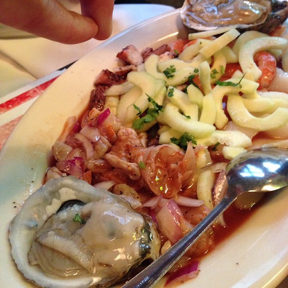 Ceviches @ Palapas Seafood Bar