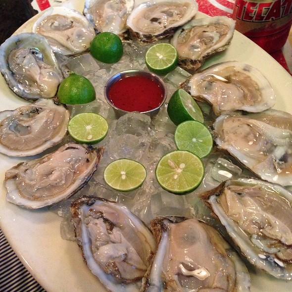Oysters @ Palapas Seafood Bar