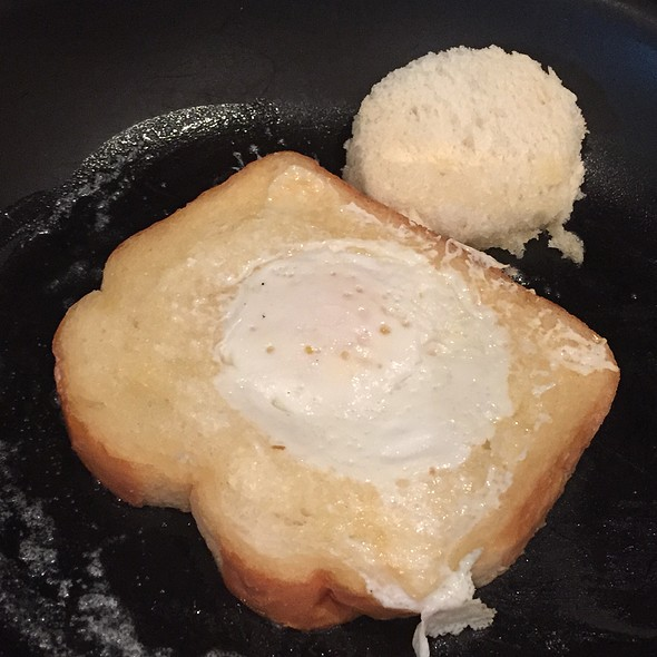 Egg In A Basket Pan Fry @ The Cornerstone