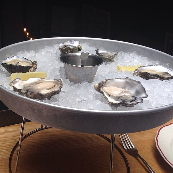 Oysters @ Cockscomb
