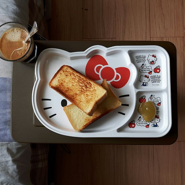 Buttered Toast With Kaya