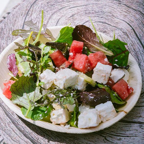 Greekish Salad @ Sky Pod Bar