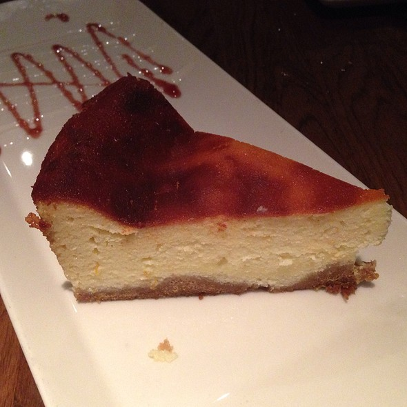 Ricotta Cheesecake - Cafe Med Restaurant, Deerfield Beach, FL