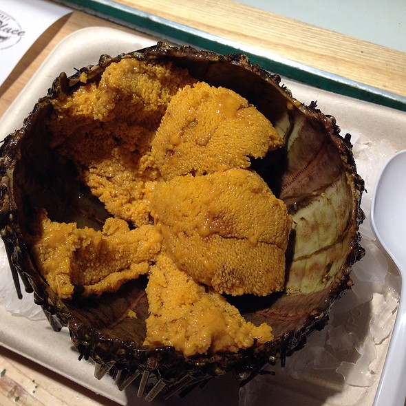 Fresh Sea Urchin @ The Lobster Place