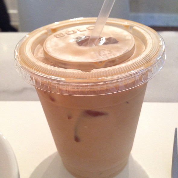 Iced Latte @ Dominique Ansel Bakery
