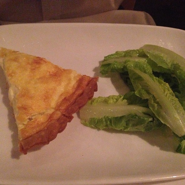 Chef Julia Child's Quiche Lorraine @ L'Ecole, the Restaurant of The FCI