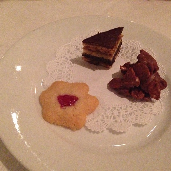 petite trio dessert @ L'Ecole, the Restaurant of The FCI