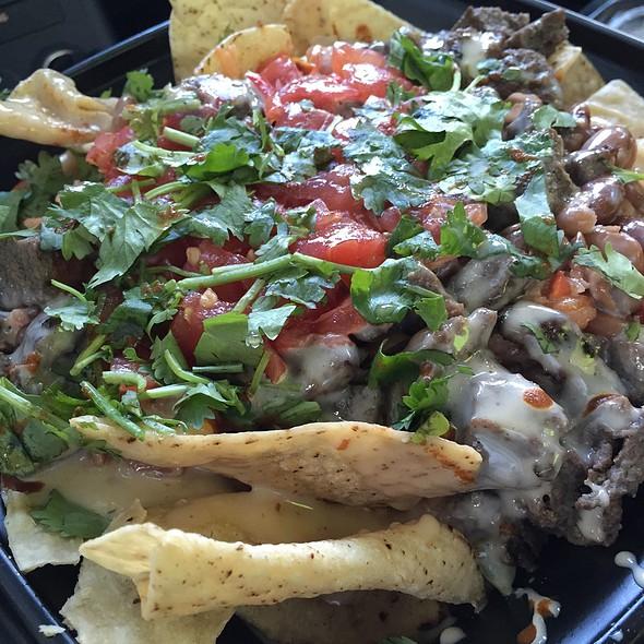 Steak Nachos @ Firebirds World Burritos