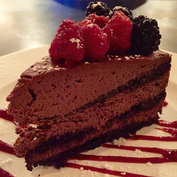 Chocolate Mousse Cake - Parallax Restaurant & Lounge, Cleveland, OH