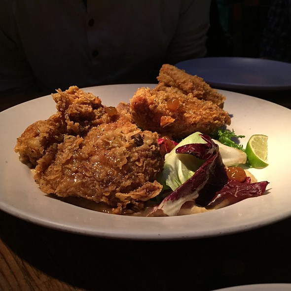 Poppy Seed Fried Chicken @ Foreign Cinema