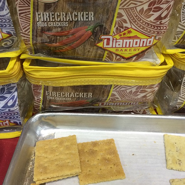 Firecracker Soda Crackers @ Diamond Bakery Co Ltd