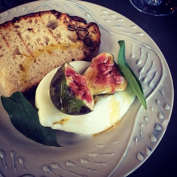 Burrata With Fresh Figs And Honey @ Soho House Berlin