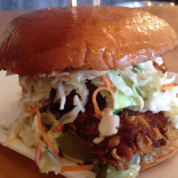 Corn Flake Crusted Fried Chicken Sandwich @ Market and Rye