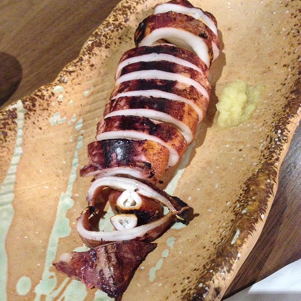 Grilled Squid @ Mr Max Cafe Nippon