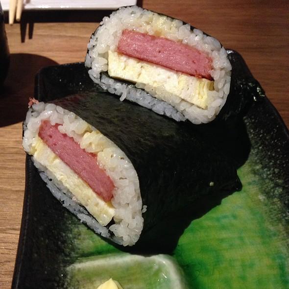 Egg And Spam Onigiri @ Mr Max Cafe Nippon