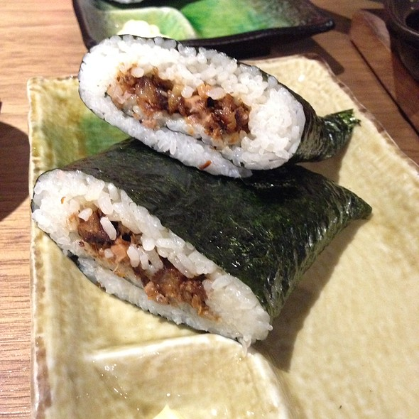 Pork Onigiri @ Mr Max Cafe Nippon