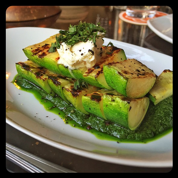 Grilled Zucchini @ Brimmer And Heeltap