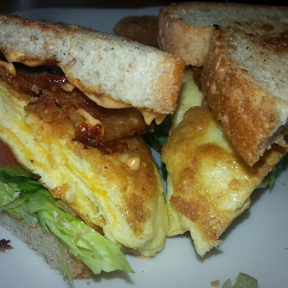 Jimmy's Breakfast Sandwich - Cafe 501 - Classen Curve, Oklahoma City, OK