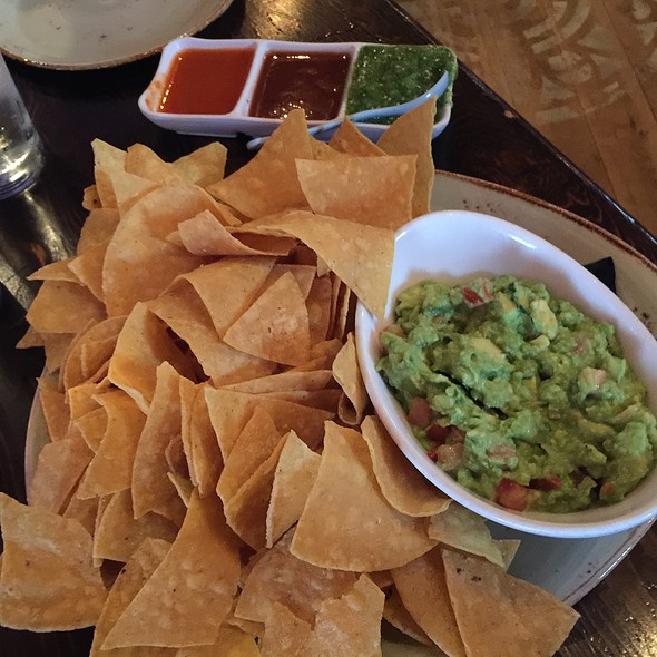 Warm Tortilla Chips, Fresh Salsa, And Mild Guacamole - Dos Caminos – Meatpacking, New York, NY