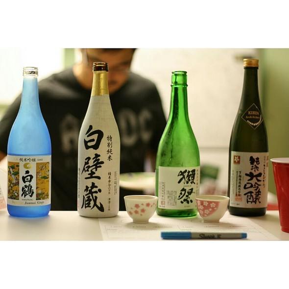 Sake @ Marukai Wholesale Mart