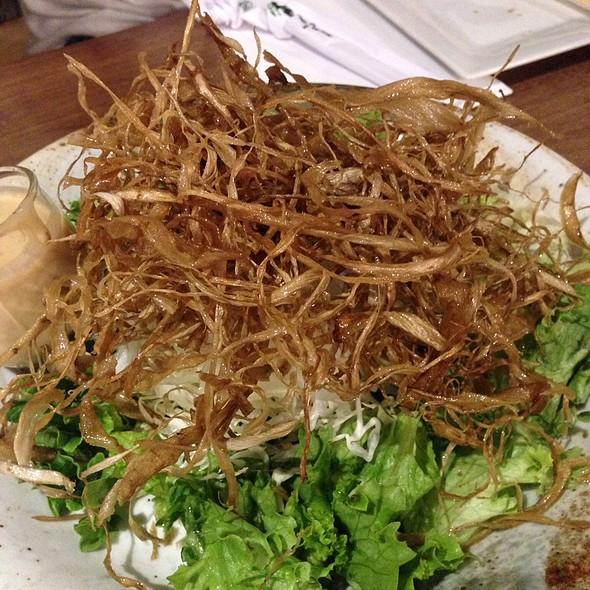 Sliced Onion Salad @ Mr Max Cafe Nippon