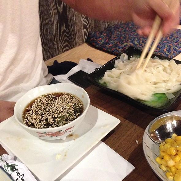Cold Kishimen Flat Udon @ Mr Max Cafe Nippon