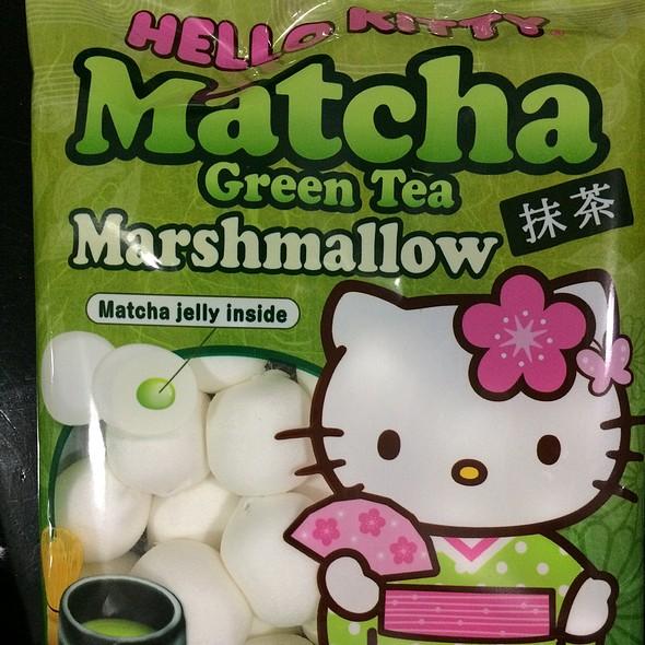 Hello Kitty Matcha Green Tea Marshmallow @ Walgreens