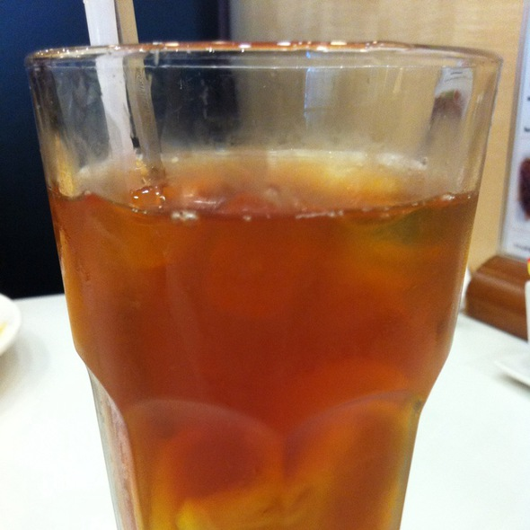 Iced Lemon Tea @ D.i.F. Cafe