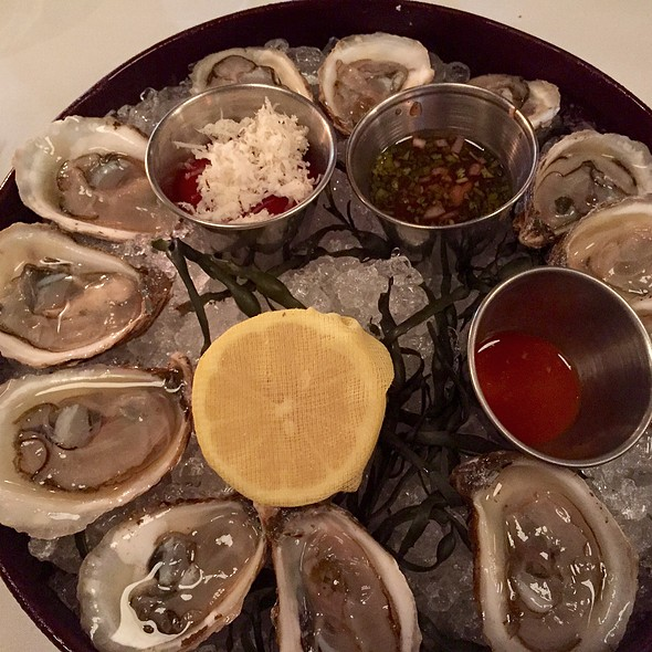 Beausoleil Oysters on the Half Shell