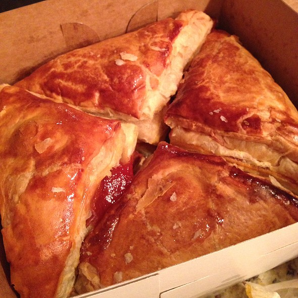 Guava and cheese pastry @ International Bakery