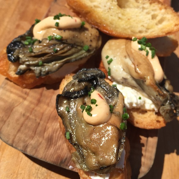 Smoked Oysters @ The Marshall Store