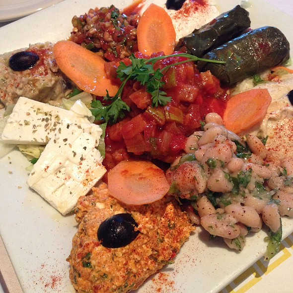 Cold Appetizer Platter @ Istanbul Grill