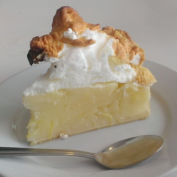 Lemon Meringue Pie @ Bobby Jo's