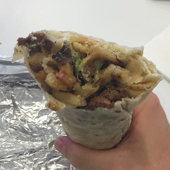 Sisig California Burrito @ Senor Sisig