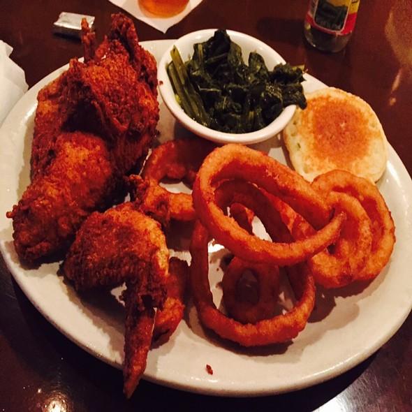 Fried White Meat Chicken Dinner - Puckett's 5th & Church, Nashville, TN