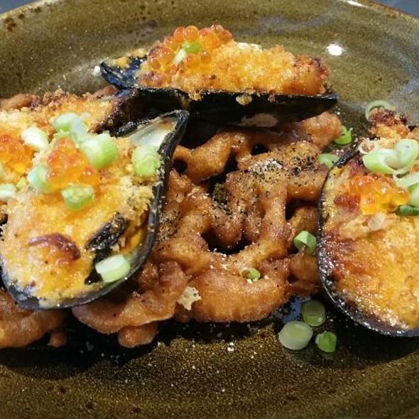 Japanese Baked Mussels  @ Gunshow
