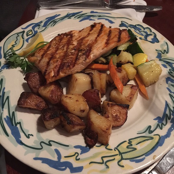 Wood Grilled Salmon @ The Sole Proprietor