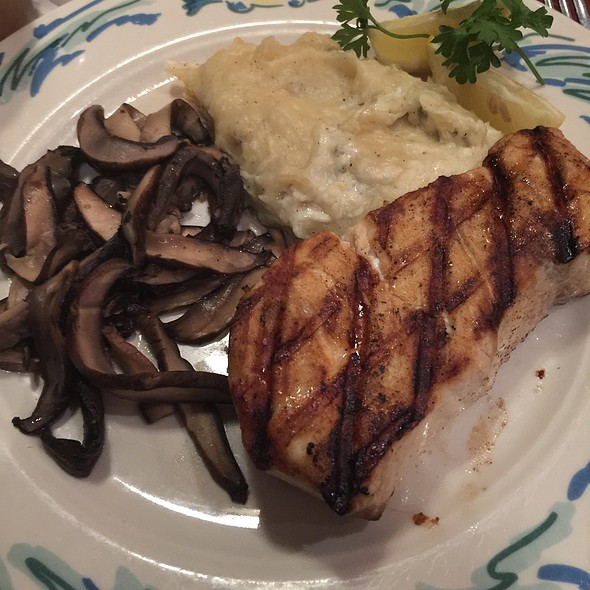Wood-Grilled Swordfish @ The Sole Proprietor