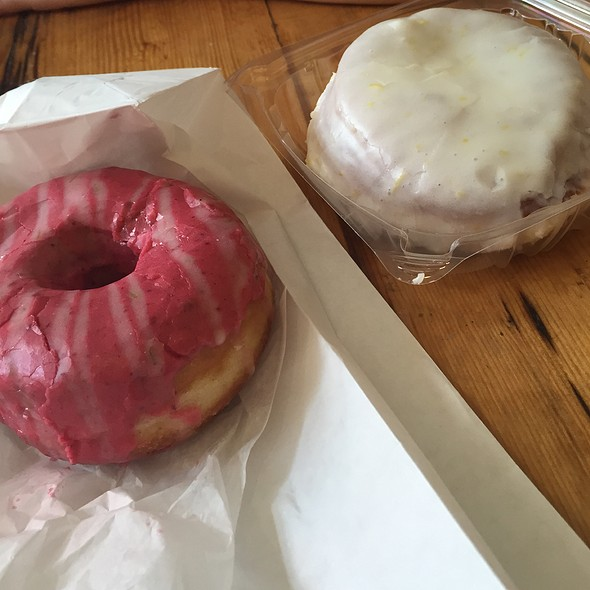 Raspberry Filled And Blackberry Donuts @ Union Square Donuts